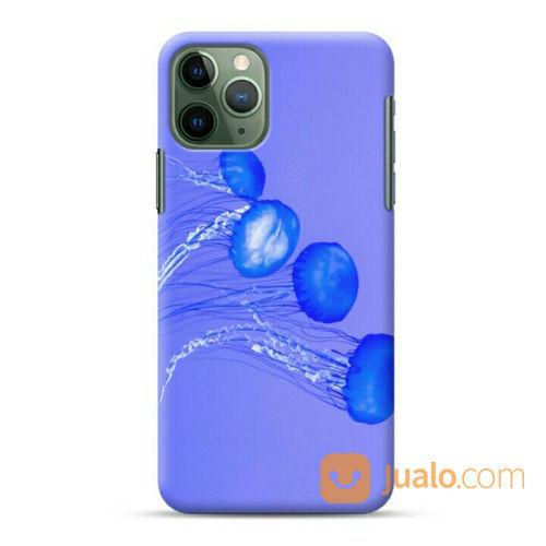 Purple Jellyfish IPhone 11 Pro Max Custom Hard Case (23683399) di Kota Bekasi