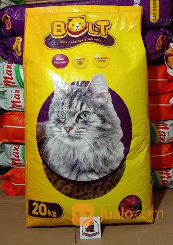 Makanan Kucing Bolt 20kg 20 Kg Cat Food Tangerang Selatan Jualo