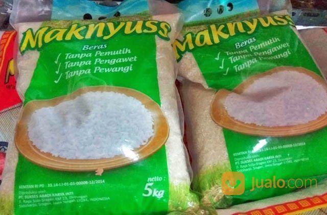 Beras makyuss kemasan kebutuhan rumah tangga makanan 23705875