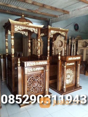 Mimbar masjid jati uk kebutuhan rumah tangga furniture 23727063
