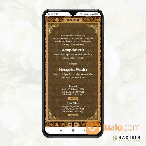 Undangan Pernikahan Digital Bandar Lampung (23735051) di Kota Bandar Lampung