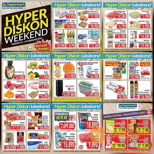 Katalog Promo JSM Hypermart Periode 21-24 Februari 2020 (23739599) di Kota Jakarta Selatan