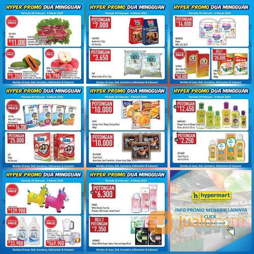 Katalog Promo Dua Mingguan Hypermart Periode 20 Februari - 4 Maret 2020! (23740571) di Kota Jakarta Selatan