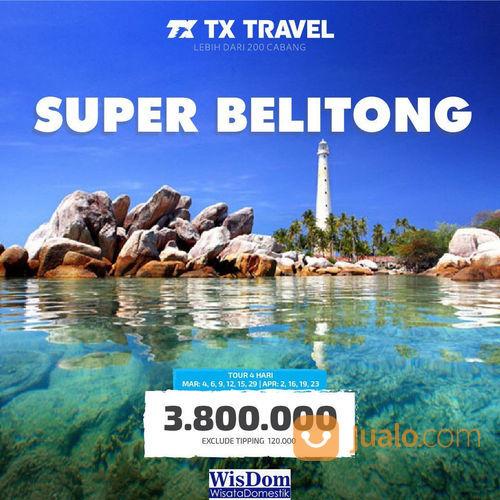 TX Travel Promo Spesial Paket Liburan Ke Belitong Cuma Rp. 3,8 Jutaan! (23758915) di Kota Jakarta Selatan