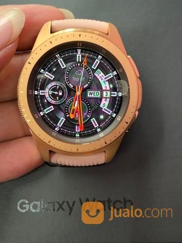 Samsung Galaxy Watch 42mm Bluetooth Fullset Mulus (23770375) di Kota Jakarta Selatan