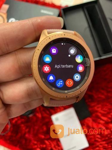 Samsung Galaxy Watch 42mm Bluetooth Fullset Mulus (23770379) di Kota Jakarta Selatan