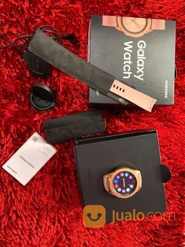 Samsung Galaxy Watch 42mm Bluetooth Fullset Mulus (23770383) di Kota Jakarta Selatan