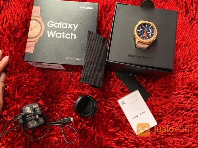 Samsung Galaxy Watch 42mm Bluetooth Fullset Mulus (23770387) di Kota Jakarta Selatan