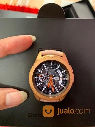 Samsung Galaxy Watch 42mm Bluetooth Fullset Mulus (23770391) di Kota Jakarta Selatan