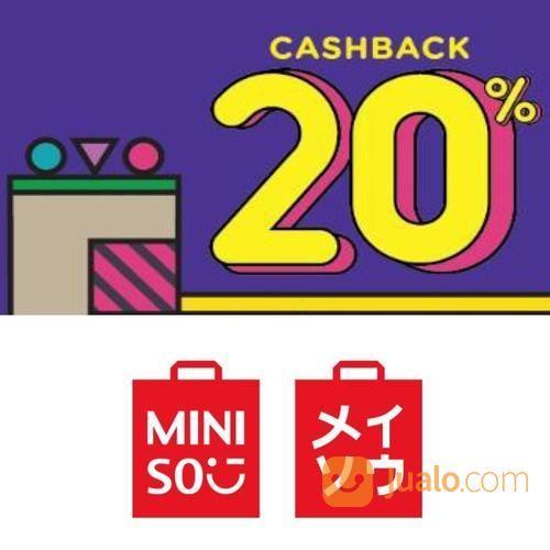 Miniso Promo Belanja Lebih Hemat Dengan Ovo, Cashback 20%! (23770523) di Kota Jakarta Selatan