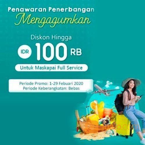 Airpaz Promo Tiket Pesawat Hemat Rp 100.000! (23782967) di Kota Jakarta Selatan