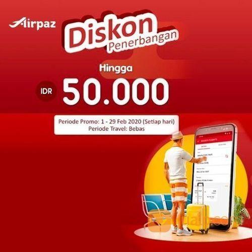 Airpaz Promo Tiket Pesawat Domestik & Internasional Hemat Hingga Rp 50.000! (23783155) di Kota Jakarta Selatan