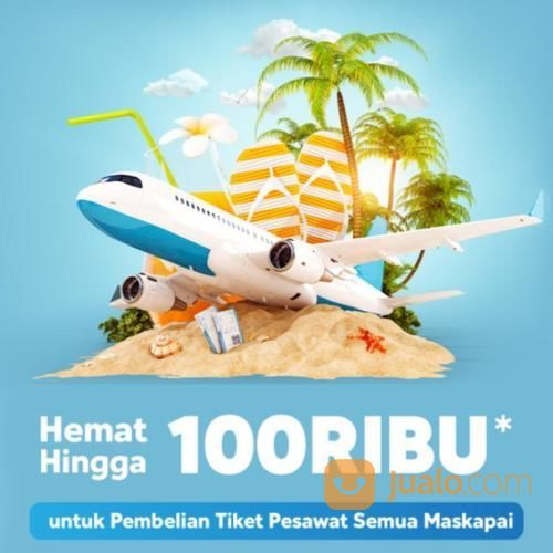 Blibli Promo Tiket Pesawat Hemat Hingga Rp 100.000! (23783443) di Kota Jakarta Selatan