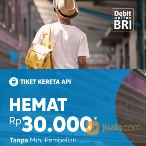 Blibli Promo Tiket Kereta Api Hemat Rp 30.000! (23787807) di Kota Jakarta Selatan