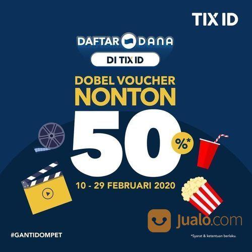 TIX ID Promo Daftar DANA Langsung Dapat Voucher Diskon 50%! (23789447) di Kota Jakarta Selatan