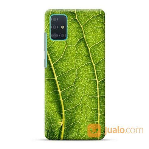 Green Leaves Samsung Galaxy A51 Custom Hard Case (23790683) di Kota Bekasi