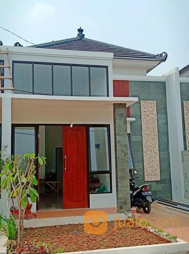 Rumah 1 Lantai Dan 2 Lantai Desain Unik Gaya Bali Di Perbatasan Cibubur Dan Depok Depok Jualo