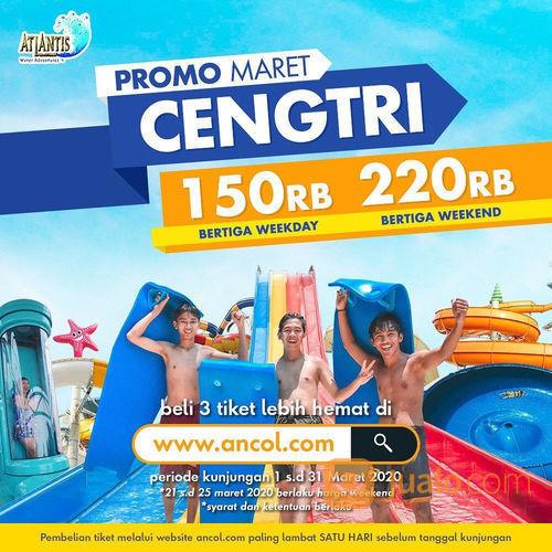 Atlantis Water Adventure Promo Cengtri, Berenang Bertiga Mulai Rp. 150.000! (23859559) di Kota Jakarta Utara