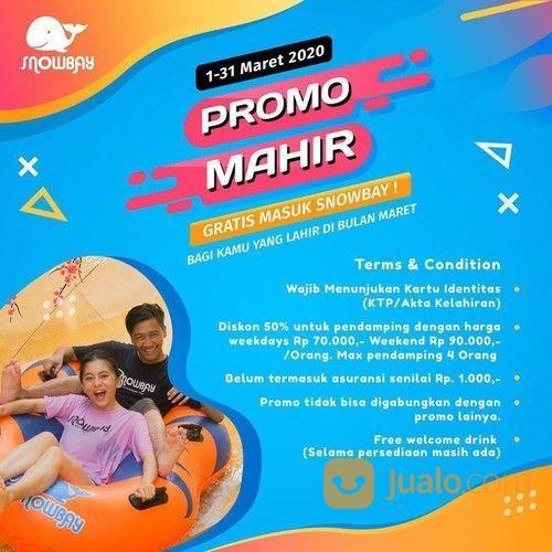 Snowbay Promo Spesial Ulang Tahun Edisi Maret, Gratis Tiket Masuk! (23860083) di Kota Jakarta Timur