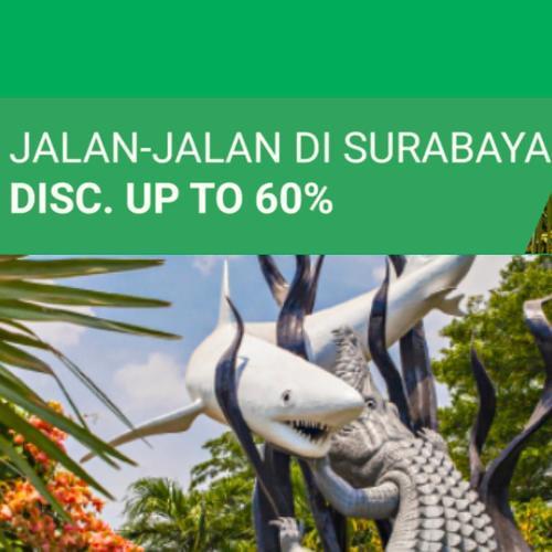 Shopee Promo Tiket Wisata Jalan-Jalan di Surabaya Diskon Hingga 60%! (23871143) di Kota Jakarta Selatan