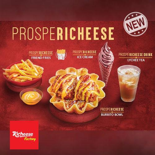 Richeese Factory Promo Menu Prospericheese, Ini Dia Pilihan Menunya! (23880511) di Kota Jakarta Selatan