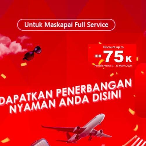 Airpaz Promo Penerbangan Maskapai Full Service Diskon Hingga Rp 75.000! (23881643) di Kota Jakarta Selatan