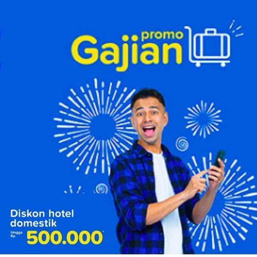Tiket.com Diskon Hotel Domestik Hingga Rp 500.000! (23888583) di Kota Jakarta Selatan