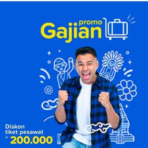 Tiket.com Promo Tiket Pesawat Domestik Diskon Hingga Rp 200.000! (23888647) di Kota Jakarta Selatan
