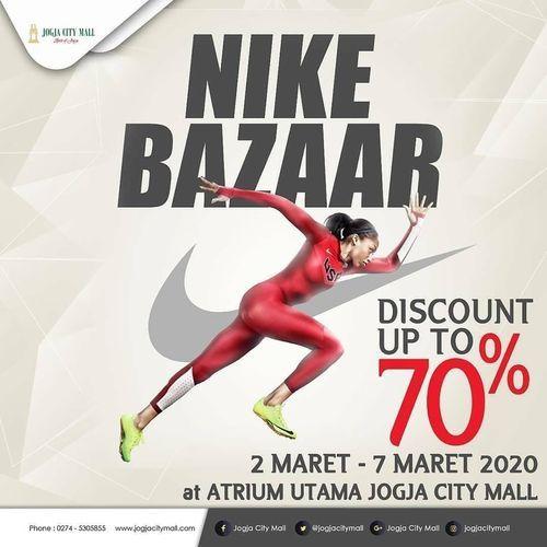 Nike Bazaar Big Sale, Diskon Hingga 70%! (23889367) di Kota Jakarta Selatan