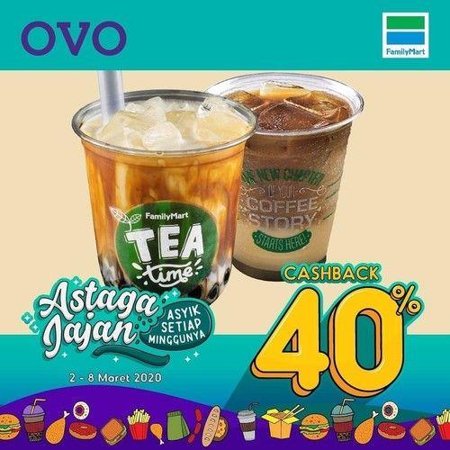 FamilyMart Promo Beli Minuman Favorit Langsung Diskon 40% Di GRABFOOD! (23898275) di Kota Jakarta Selatan