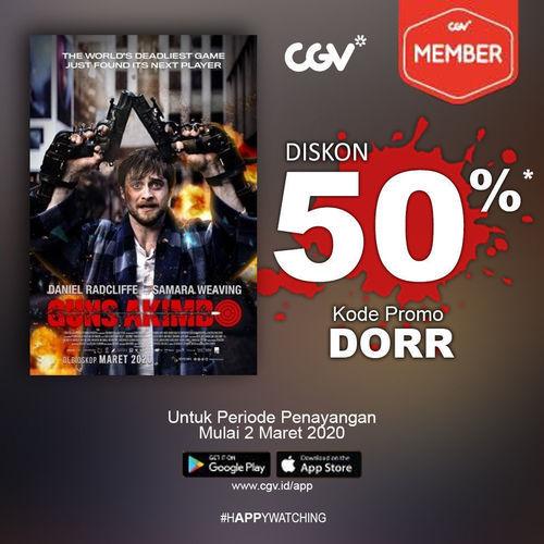 CGV Cinema Promo Nomat Diskon 50%, Cek Di Sini Syarat Dan Ketentuannya! (23901847) di Kota Jakarta Selatan
