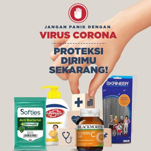 Blibli Promo Proteksi Diri Dari Virus Corona Mulai Dari Rp 12.000! (23912491) di Kota Jakarta Selatan