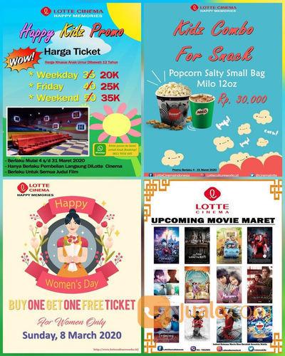 Lotte Cinema Promo Spesial Edisi Maret, Cek Syarat Dan Ketentuannya Di Sini! (23918335) di Kota Jakarta Selatan