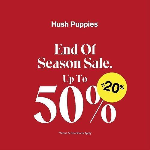 Hush Puppies Promo End Of Season Sale, Diskon Hingga 50% + 20%! (23931551) di Kota Jakarta Selatan