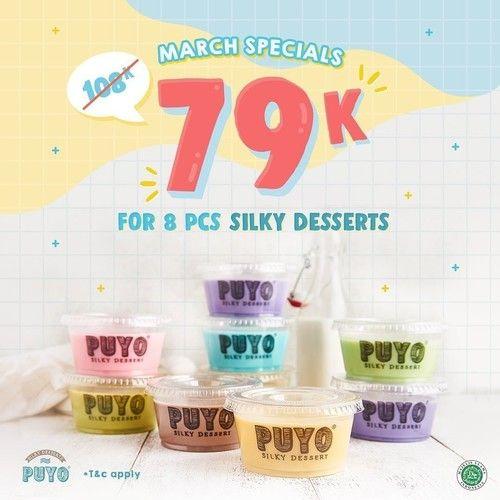 Puyo Promo Heboh Bulan Maret, Beli 8 Cuma Rp. 79.000! (23931611) di Kota Jakarta Selatan