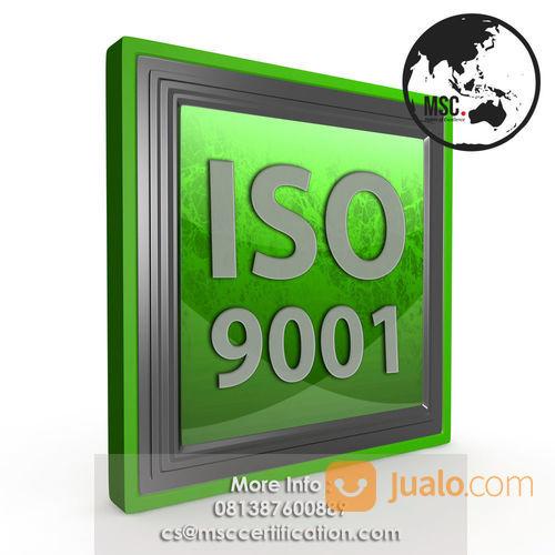 Jasa Pembuatan Iso 9001 Murah (23936987) di Kab. Bandung