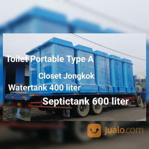 WC Portable Closet Jongkok (23938355) di Kota Jakarta Barat