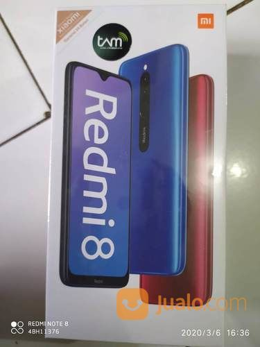 Xiaomi Redmi 8 4/64GB Hitam (23961751) di Kota Bandung