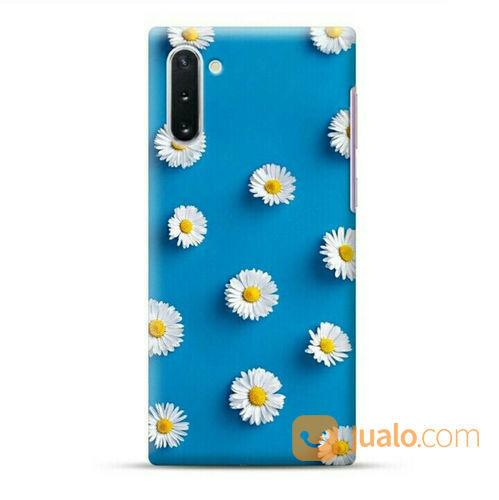 Blue Daisy Samsung Galaxy Note 10 Custom Hard Case (23972243) di Kota Bekasi