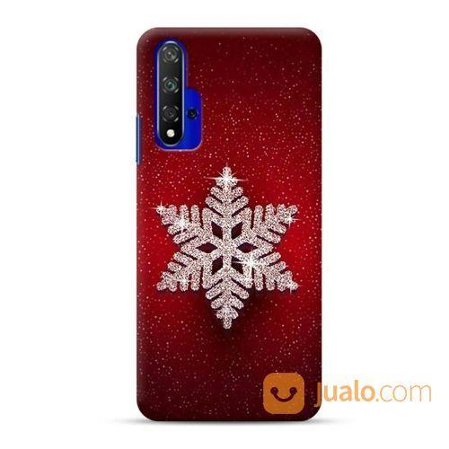 Snowflake Huawei Nova 5T Custom Hard Case (23986599) di Kota Bekasi