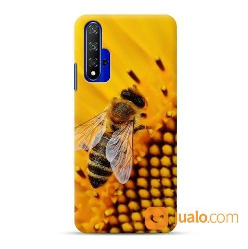 Flowers And Bee Huawei Nova 5T Custom Hard Case (24004535) di Kota Bekasi