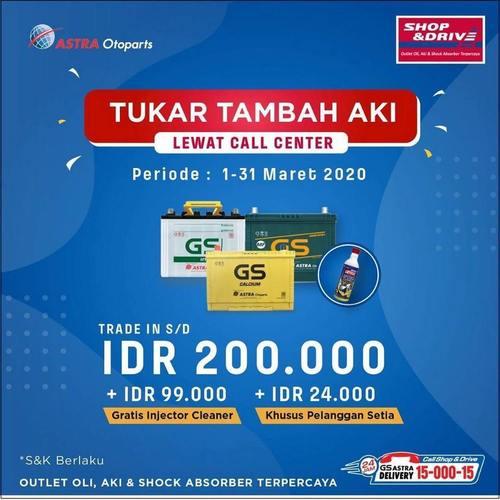 Promo Trade in Aki Spesial Call Center dan Pelanggan Setia (24010991) di Kota Jakarta Selatan
