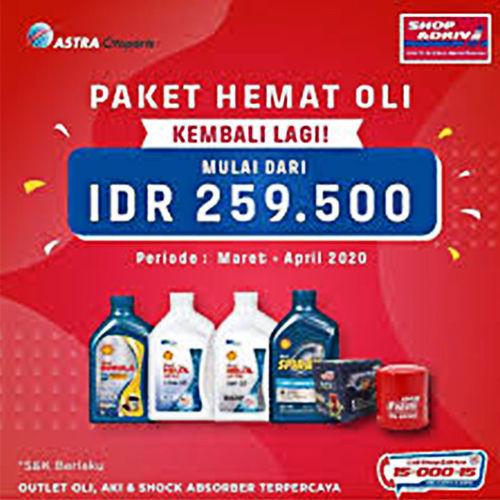 Promo Paket Hemat Oli (24011283) di Kota Jakarta Selatan