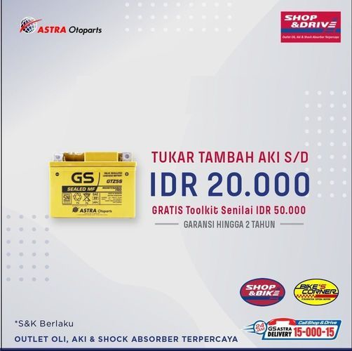 Promo Shop&Bike dan Bike Corner (24011483) di Kota Jakarta Selatan