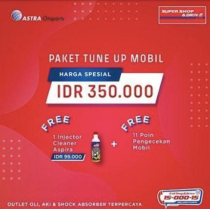 Promo Paket Tune Up Mobil (24011639) di Kota Jakarta Selatan