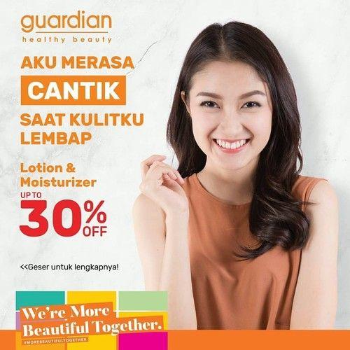 Guardian Promo Lotion & Moisturizer, Diskon Hingga 30%! (24017867) di Kota Jakarta Selatan