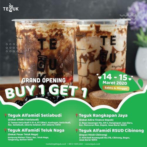 Teguk Grand Opening Buy 1 Get 1 (24036523) di
