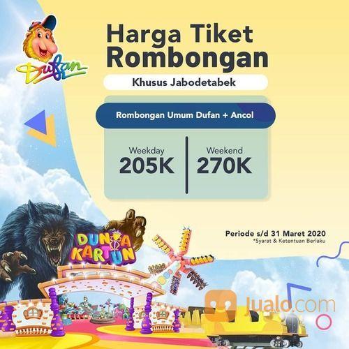 Dufan Promo Tiket Rombongan Jabodetabek (24038355) di Kota Jakarta Selatan