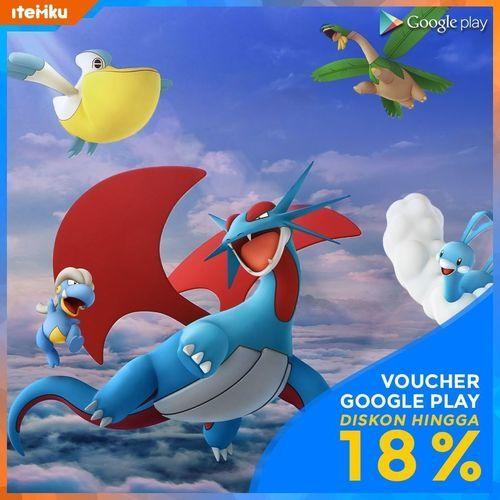 Itemku Voucher Google Play Diskon Hingga 18% (24040739) di