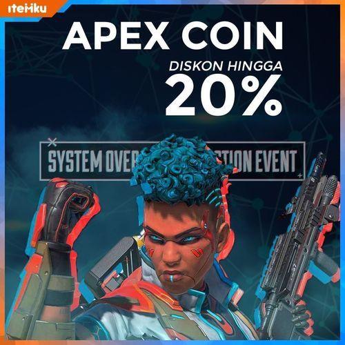 Itemku Diskon Apex Coin Hingga 20% (24041175) di Kota Jakarta Selatan